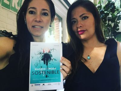 Antonella Di Campo & Mariel Jumpa wearing Susana Nakatani