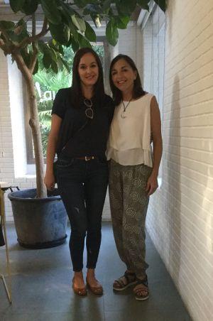 Susana Nakatani and Charo Ulecia