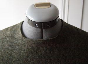 Cooper Dress Neck Line Detail