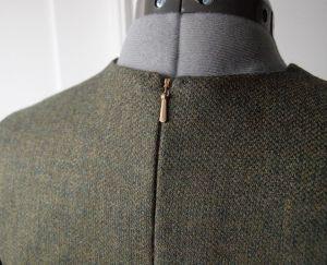 Cooper Dress Zipper Detail
