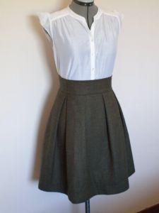 Cooper Skirt Front