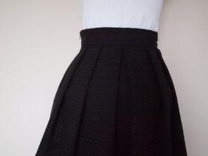 Martina Eyelet Midi Skirt Detail