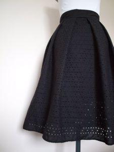 Martina Eyelet Skirt