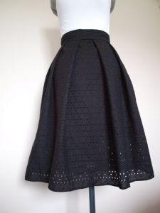 Martina Eyelet Skirt Front