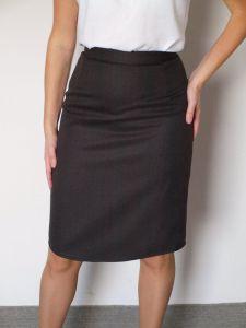 Olivia Wool Skirt