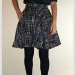 Circle skirt by Susana Nakatani