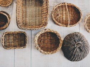 Basket eco wrapping