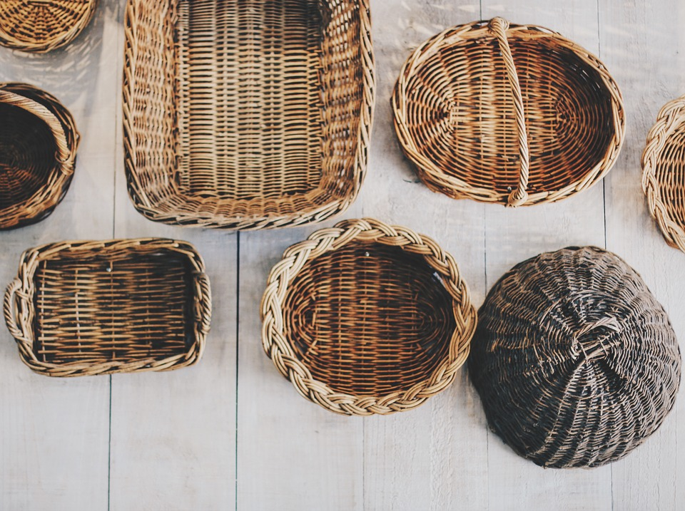 Basket gift wrapping Susana Nakatani