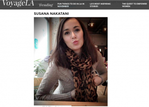 Susana nakatani & Voyage LA