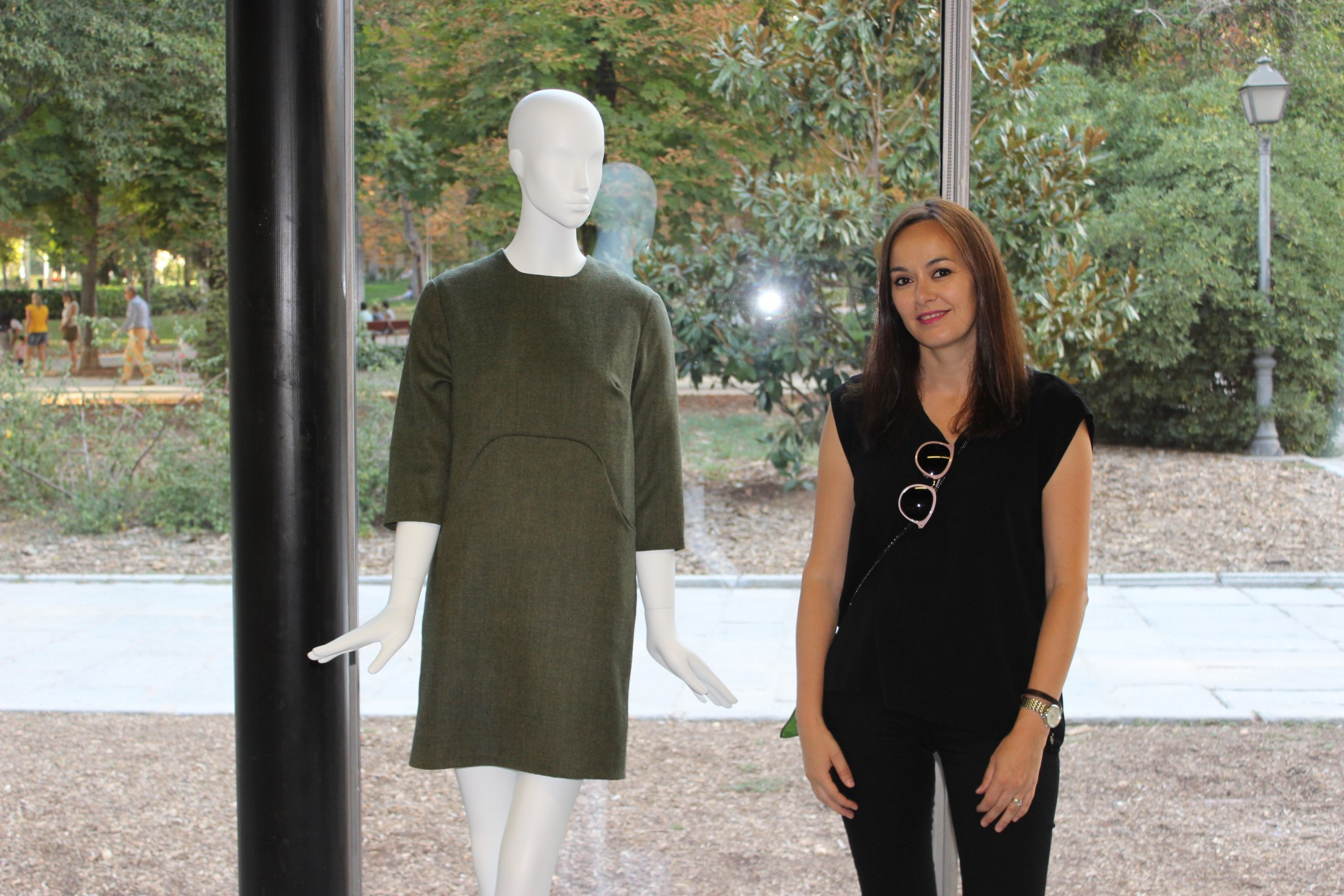 Susana Nakatani and the Cooper Dress