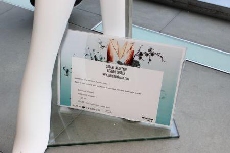 Sustainable fashion Exhibit in Madrid