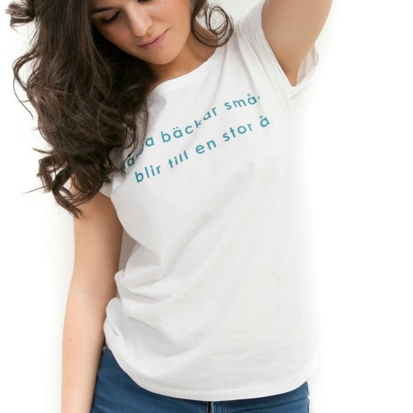 Organic t-shirt by Susana Nakatani